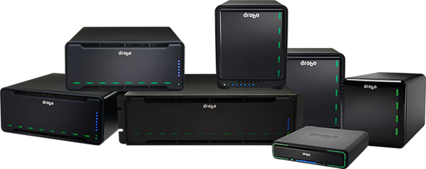 Drobo Appliances stack