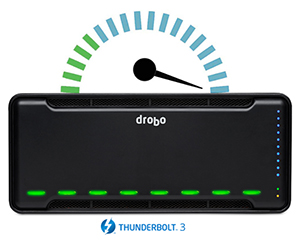 The Fastest Drobo Yet With Thunderbolt 3 Speed