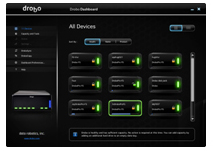 Drobo Dashboard Management