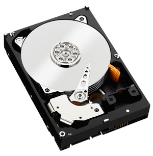 WD Red Hard Drive View